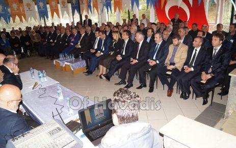 Ak Parti Hayrat İlçe Başkanlığına Öztel 2.kez seçildi