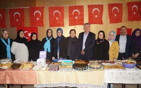 AK Parti kadın kollarından Afrin'e destek kermesi