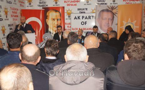 AK Parti Ocak Toplantısı Köseoğlu'nun katılımıyla yapıldı