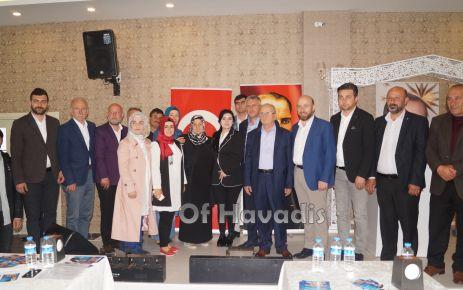 AK Parti Trabzon Aday Adayları Of'ta partililerle buluştu