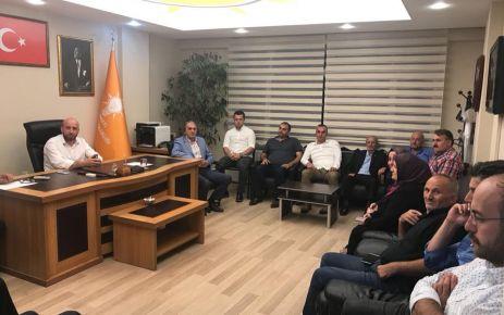 Ak Parti Yeni Yönetimi ilk kez toplandı