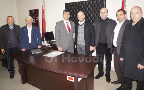 Ak Parti yönetiminden Müdür Şenel'e ziyaret