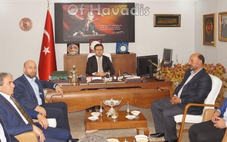 Ak Parti'den Kaymakam Fırat ve Başkan Sarıalioğlu'na ziyaret