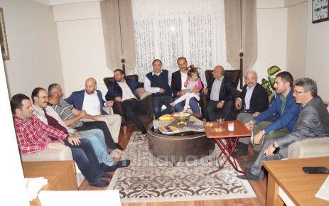 Ak Parti Of Teşkilatından Oflu hacılara ziyaret
