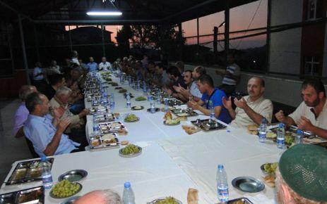 Ak Parti'nin Belde ve Köy İftarlarının sonuncusu Ballıca'daydı