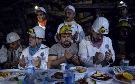 Albayrak ve Soylu, yeni yıla maden ocağında girdi