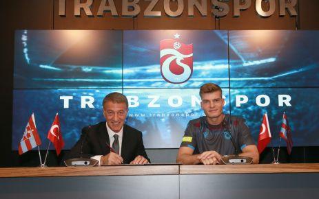 Alexander Sörloth Trabzonspor'da