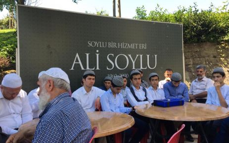 Ali Soylu vefatının 17.yılında mezarı başında anıldı