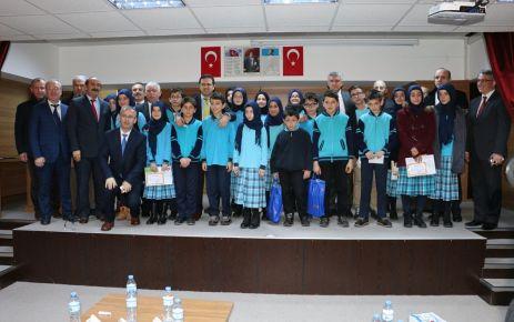 Ali Yeşilyurt İHO'da bol ödüllü karne töreni