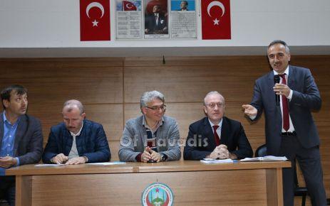 Ali Yeşilyurt İHO'da Okul Aile Birliği yönetimi belirlendi