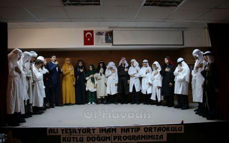 Ali Yeşilyurt İHO'lu öğrencilerden Kutlu Doğum tiyatrosu
