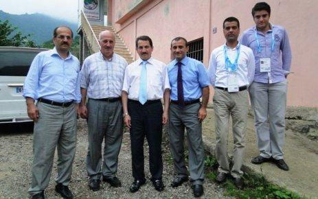 Atalay ve Albayrak'tan Başkan Bilgin'e ziyaret