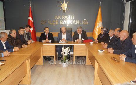 Atalay'dan Ak Parti Of İlçe Teşkilatına ziyaret