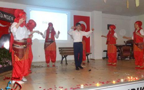 Atatürk Ortaokulu'nun yılsonu şöleni