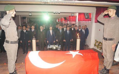 Atatürk, vefatının 79. yılında Of'ta düzenlenen törenle anıldı