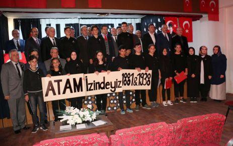 Atatürk vefatının 80. yılında anıldı