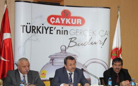 Bakan Eker, 2014 yılı Yaş Çay alım fiyatını açıkladı