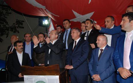 Bakan Soylu İstanbul'da Of Cumder'in açılışını yaptı