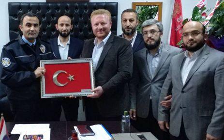 Ballıca Kurs Yönetiminden Müdür Saçkan'a ziyaret