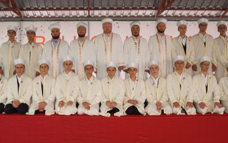 Ballıca'da 16 hafız için tören düzenlendi