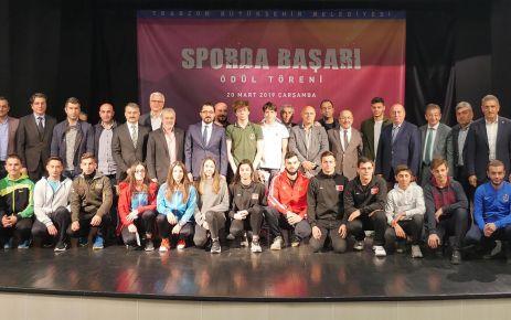 Başarılı sporcu ve spor kulüplerine 234 bin TL ödül