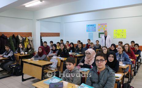 Başarıya kilitlenmiş okul Solaklı Fen Lisesi
