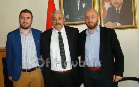 Başkan Er'den Başkan Terzioğlu'na ziyaret