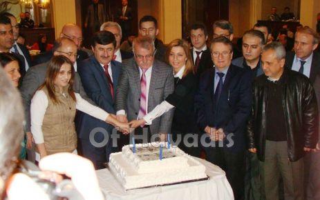 Başkan Gümrükçüoğlu Gazetecileri kahvaltıda ağırladı