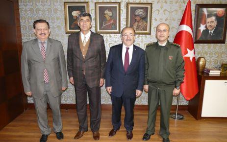Başkan Gümrükçüoğlu Orgeneral Çolak'ı ağırladı