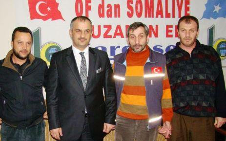 Başkan Saral'dan Kardeş Eli Derneği'ne Teşekkür