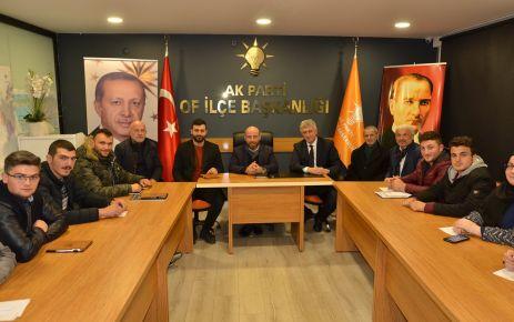 Başkan Sarıalioğlu AK Partili gençlerle buluştu