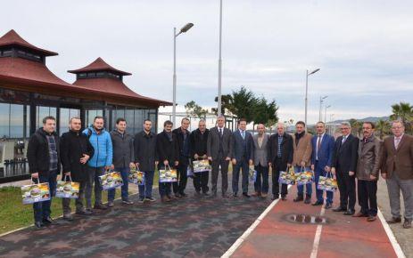 Başkan Sarıalioğlu basın mensuplarıyla buluştu