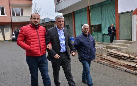 Başkan Sarıalioğlu, Çataldereli vatandaşları dinledi