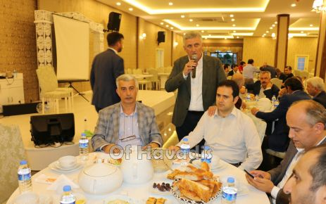 Başkan Sarıalioğlu eğitimcileri iftarda buluşturdu