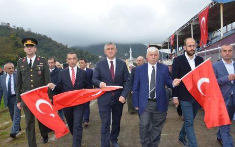 Başkan Sarıalioğlu; Oflular milli ve manevi değerlerine bağlıdır