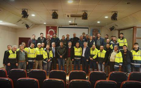 Başkan Sarıalioğlu Temizlik İşleri personeliyle buluştu