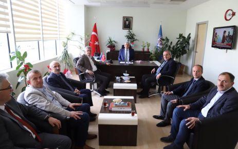Başkan Sarıalioğlu ve Meclis Üyelerinden Yanık'a ziyaret