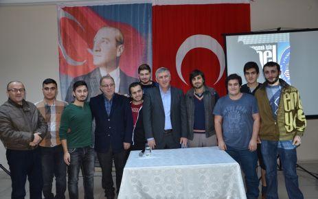 Başkan Sarıalioğlu, Yurt Öğrencileriyle buluştu