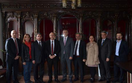 Başkan Sarıalioğlu'ndan Gazeteciler Cemiyetine ziyaret