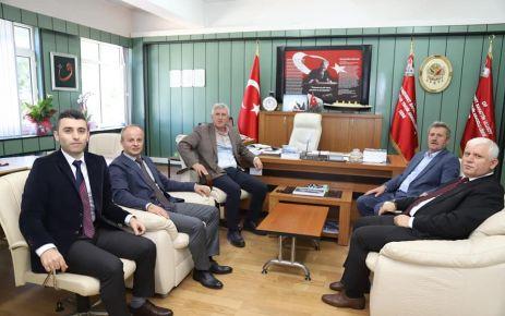 Başkan Sarıalioğlu'ndan yeni müdürlere ziyaret