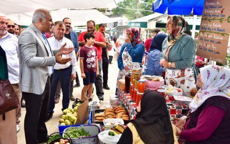 Başkan Zorluoğlu, Kireçhane pazarının 1. kuruluş yılını kutladı