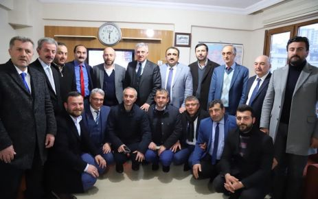 Başkanlar Terzioğlu ve Sarıalioğlu'ndan Memursen'e ziyaret