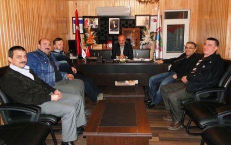 Başmüdür Usta'dan Başkan Bilgin'e ziyaret