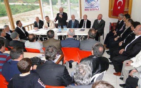 Bayraktar Ballıca Belediyesini ziyaret etti