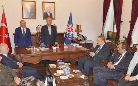 Bayramlaşmada Trabzon birlikteliği yaşandı