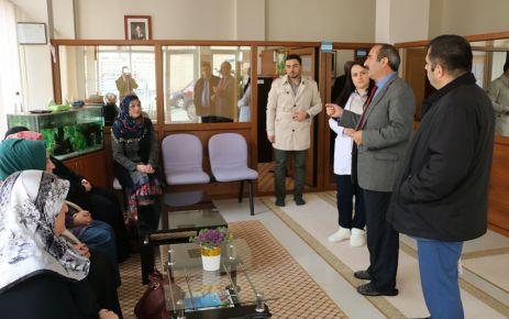 Bedir'den Dayıoğlu Rehabilitasyon Merkezine ziyaret