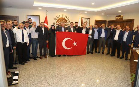 Belediye Meclisi'nden Barış Pınarı Harekatı'na destek