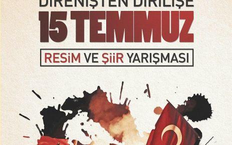 Büyükşehir'den 15 Temmuz resim ve şiir yarışması