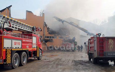 Büyükşehir'den 2015 yılında Bin 300 yangına müdahale