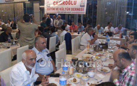 Çakıroğlu Eğitim ve Kültür Derneği İftarda buluşturdu